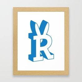 Rabbitguts Logo Framed Art Print