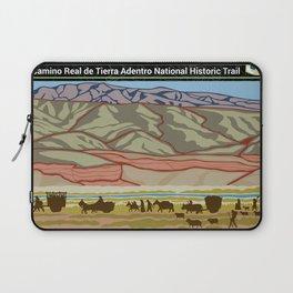 Vintage Poster - El Camino Real de Tierra Adentro National Historic Trail (2018) Laptop Sleeve