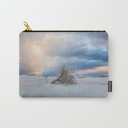 Adrift - Lone Tree In White Sands New Mexico Carry-All Pouch