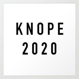 Knope 2020 Art Print