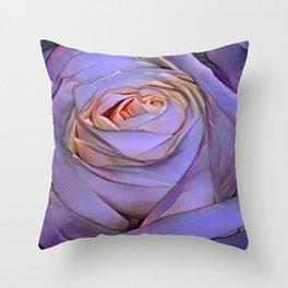 Violet rose Throw Pillow