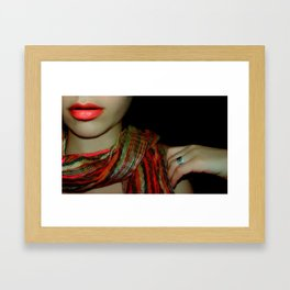 unveiled Framed Art Print