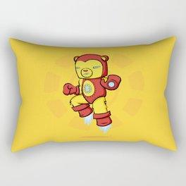 Iron Bear Rectangular Pillow