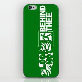 Look not behind thee iPhone Skin
