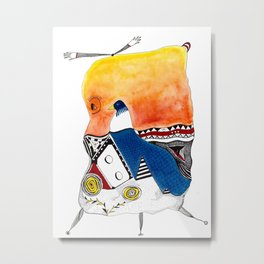 You Are Ready For This! Metal Print