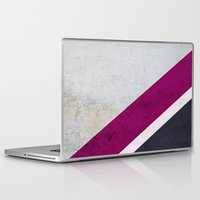 concrete Laptop & iPad Skins featuring Concrete Shadows by cafelab