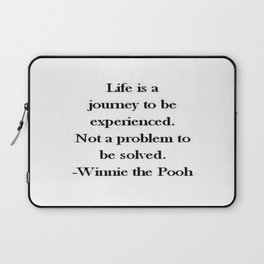 Winnie the Pooh Quote Laptop Sleeve
