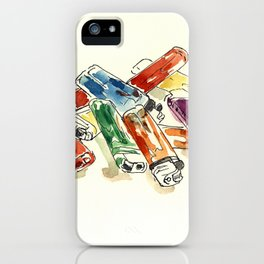 lighters iPhone Case