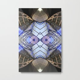 ECA 0215 (Symmetry Series) Metal Print