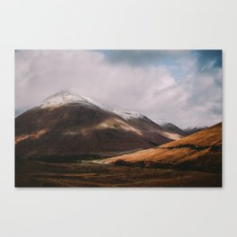 Scottish Highlands Canvas Print