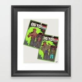O.G. Yo! Framed Art Print