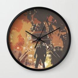 Mad Max Rockatansky 3 Wall Clock