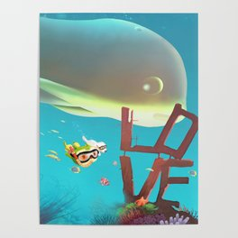 Diving Poster