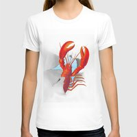 lobster T-shirts featuring Lobster!!!!!!!!!!! by Rococco-LA