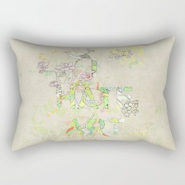 I HATE ART Rectangular Pillow