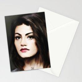 Phoebe Tonkin 2 Stationery Cards