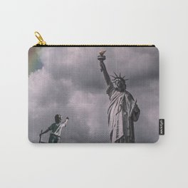 Statue of liberty rainbow Carry-All Pouch