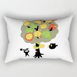 The Ninja Assassin Rectangular Pillow