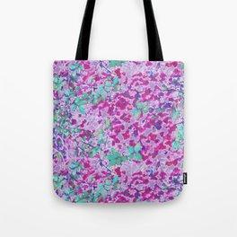 Pink Ivy Tote Bag