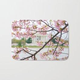 Jefferson through the Blossoms Bath Mat