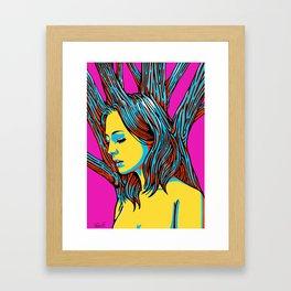 Sleeping Forest9 Framed Art Print