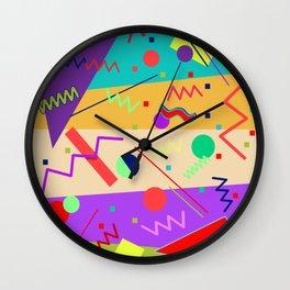 Memphis #56 Wall Clock