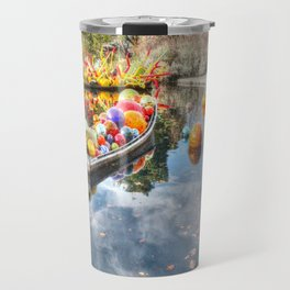 Floating Glass Travel Mug