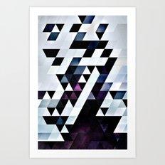 MODYRN LYKQUYR Art Print