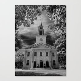 First Congegational Church of Stockbridge Canvas Print