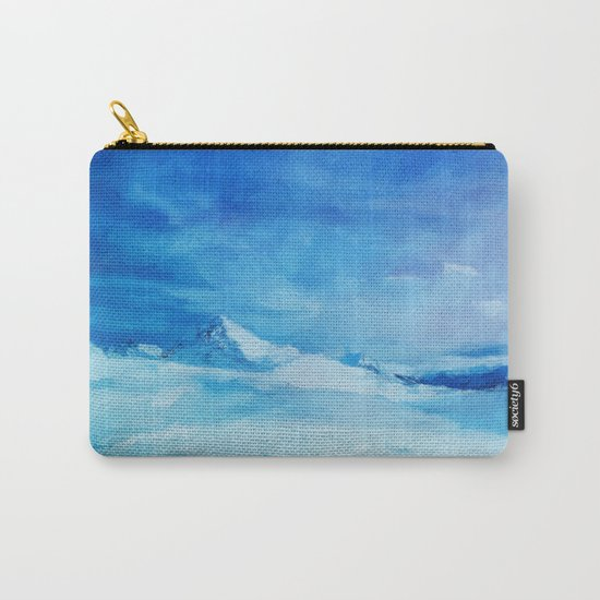 Huge and blue Carry-All Pouch