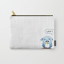 Funny owl Carry-All Pouch