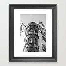 Town Hall Torgau Framed Art Print