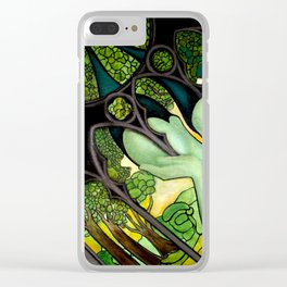 Tainted VIII Clear iPhone Case