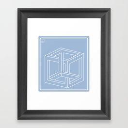unendlichkeit und jenseits Framed Art Print