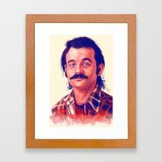 Young Mr. Bill Murray Framed Art Print