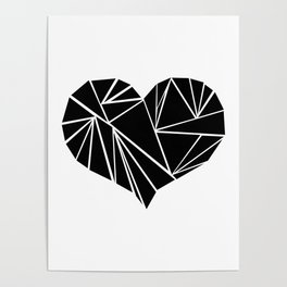 origami heart Poster