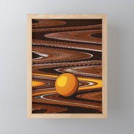 Yolk Framed Mini Art Print