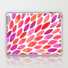 Watercolor brush strokes burst - pink and purple Laptop & iPad Skin