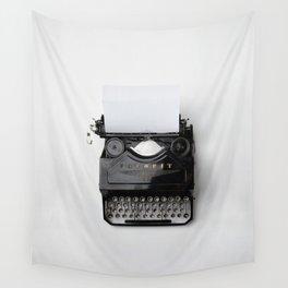 Old fashion typewriter Wall Tapestry