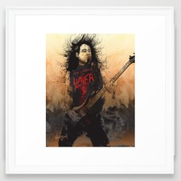 Tom Araya Framed Art Print