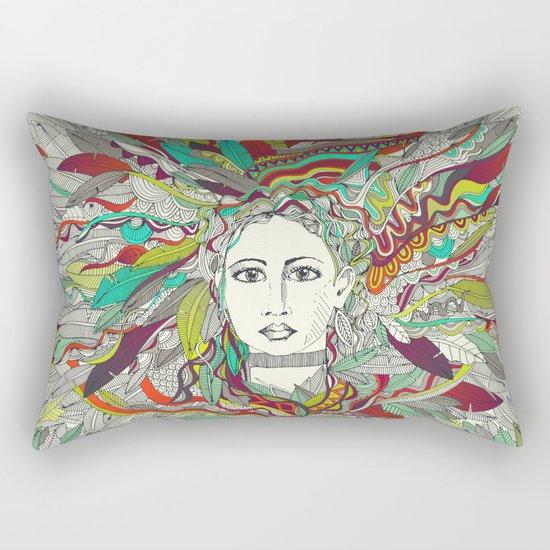 Goddess Aurora Rectangular Pillow