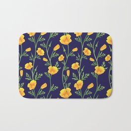California Gold Rush (Poppies) Bath Mat