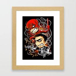 Dare to Punish! Framed Art Print