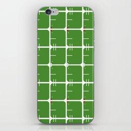 green_bird iPhone Skin
