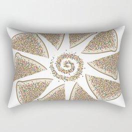 Fairy bread spiral Rectangular Pillow
