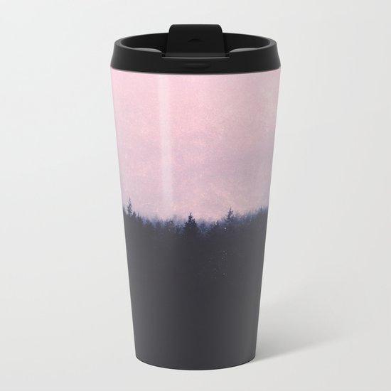 Seamless forest Metal Travel Mug