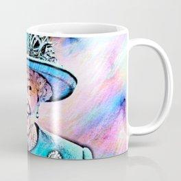 Queen Elizabeth II Artistic Illustration Fairy Style Coffee Mug