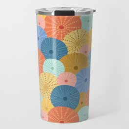 Coloful Sea Urchins 2 Travel Mug
