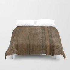 Australian Walnut Wood Duvet Cover