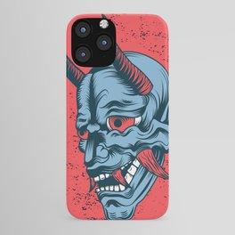 Hannya Mask Floater iPhone Case